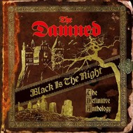 THE DAMNED - BLACK IS THE NIGHT: THE DEFINITIVE ANTHOLOGY (Vinyl LP).