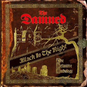THE DAMNED - BLACK IS THE NIGHT: THE DEFINITIVE ANTHOLOGY (Vinyl LP)