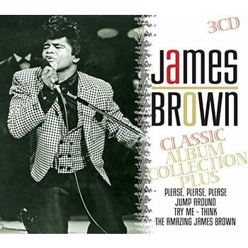 JAMES BROWN - CLASSIC ALBUM COLLECTION PLUS (CD)