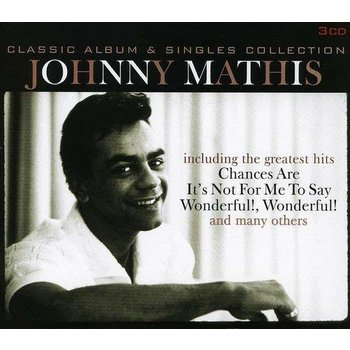 JOHNNY MATHIS - CLASSIC ALBUM & SINGLES COLLECTION (CD)