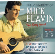 MICK FLAVIN - THE VERY BEST OF MICK FLAVIN THE EARLY YEARS (DVD & CD).