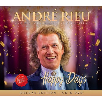 ANDRE RIEU - HAPPY DAYS (CD & DVD)
