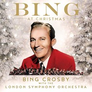 BING CROSBY - BING AT CHRISTMAS with THE LONDON SYMPHONY ORCHESTRA (CD).