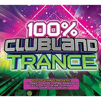 100% CLUBLAND TRANCE - VARIOUS ARTISTS (CD)