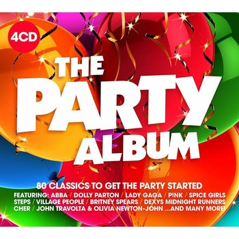 THE PARTY ALBUM - VARIOUS ARTISTS (CD)