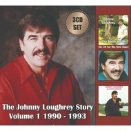 JOHNNY LOUGHREY - THE JOHNNY LOUGHREY STORY VOLUME 1  1990 -1993  (3 CD SET)...