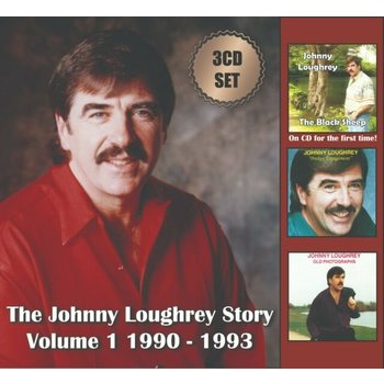JOHNNY LOUGHREY - THE JOHNNY LOUGHREY STORY VOLUME 1  1990 -1993  (3 CD SET)