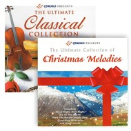 THE CLASSICAL COLLECTION  &  CHRISTMAS MELODIES  (2 CD SET)