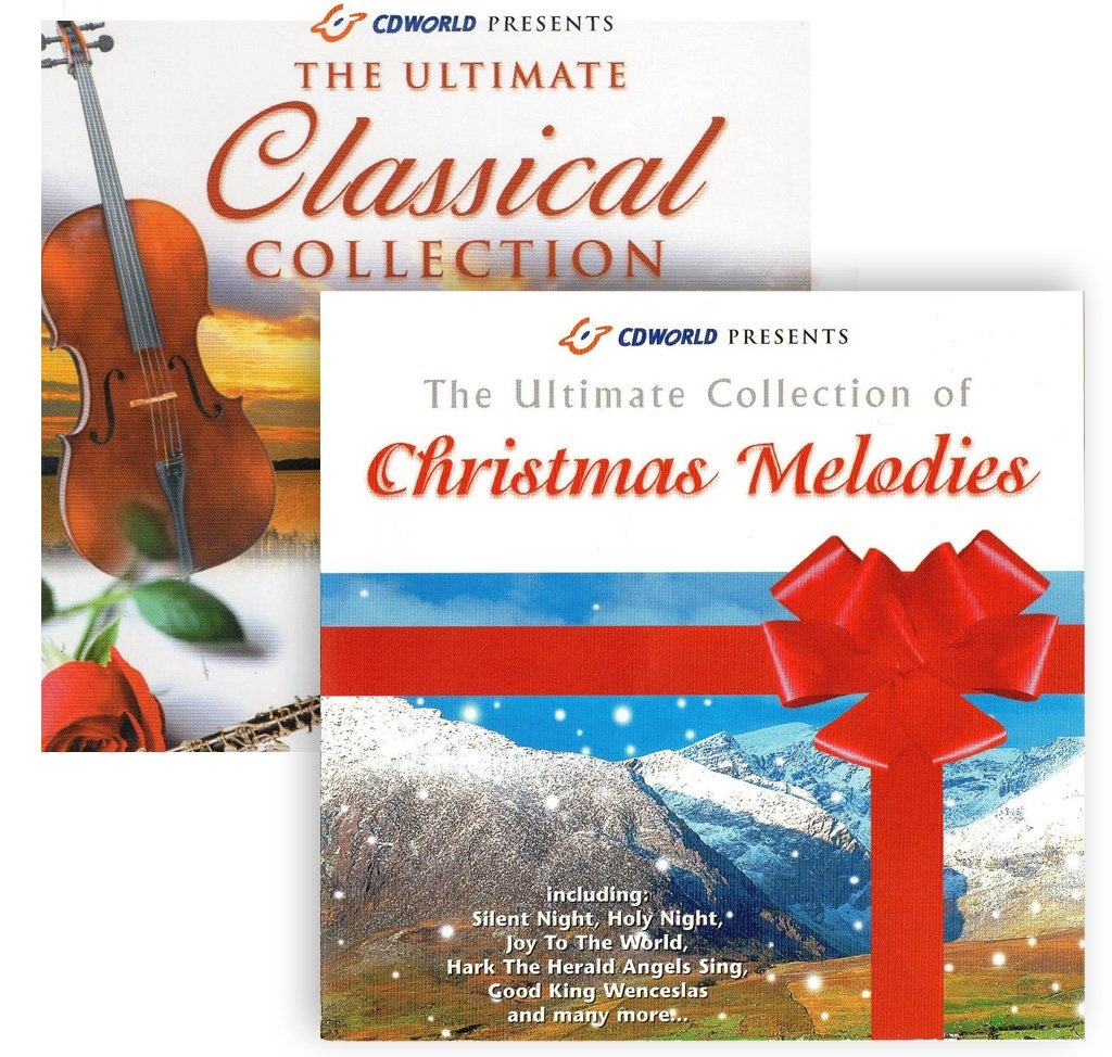 Angel From Holly's World the classical collection & christmas melodies (2 cd set