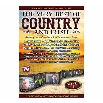 THE VERY BEST OF COUNTRY AND IRISH VOLUME 3 - VARIOUS ARTISTS (DVD)