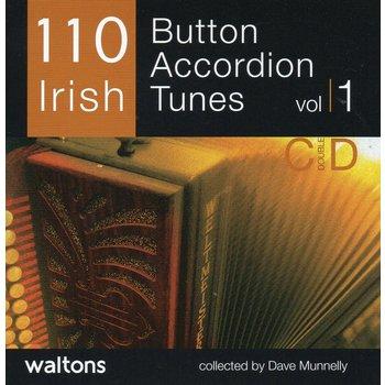 110 IRISH BUTTON ACCORDION TUNES (CD)