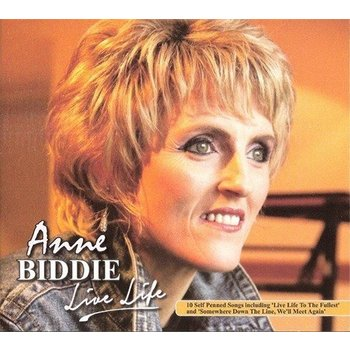 ANNE BIDDIE - LIVE LIFE (CD)