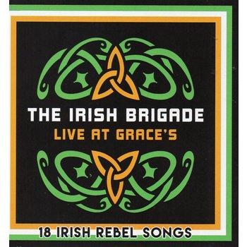 THE IRISH BRIGADE - LIVE AT GRACE'S (CD)