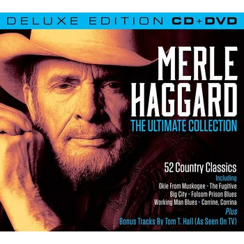 MERLE HAGGARD - THE ULTIMATE COLLECTION (CD / DVD)