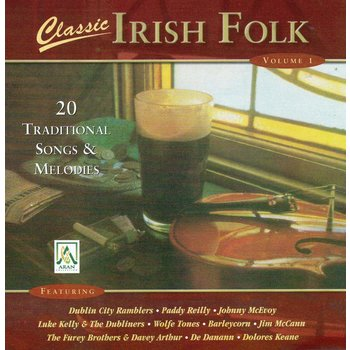 CLASSIC IRISH FOLK, VOLUME 1 - VARIOUS ARTISTS (CD)