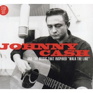 JOHNNY CASH - AND THE MUSIC THAT INSPIRED WALK THE LINE (CD).