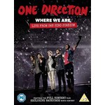 ONE DIRECTION - WHERE WE ARE: LIVE FROM SAN SIRO STADIUM (DVD).