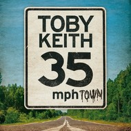 TOBY KEITH - 35 MPH TOWN (CD)...