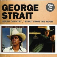 GEORGE STRAIT - STRAIT COUNTRY / STRAIT FROM THE HEART (CD)...