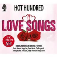 HOT HUNDRED LOVE SONGS - VARIOUS ARTISTS (4 CD SET)...