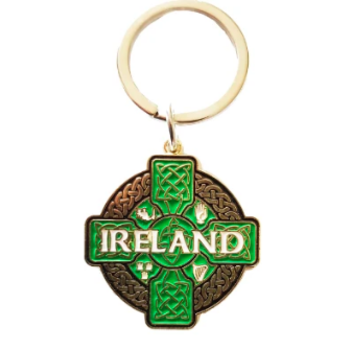 KEYRING - CELTIC IRELAND IRISH KEYRING