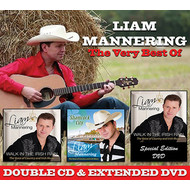 LIAM MANNERING - THE VERY BEST OF LIAM MANNERING (CD/ DVD)...