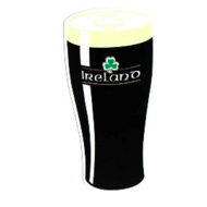 IRISH CAR/WINDOW LAMINATED STICKER (IRISH PINT)