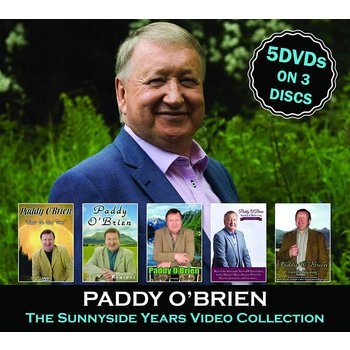 PADDY O'BRIEN - THE SUNNYSIDE YEARS VIDEO COLLECTION (DVD)