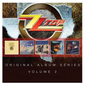 ZZ TOP - ORIGINAL ALBUM SERIES VOLUME 2 (5 CD Set)