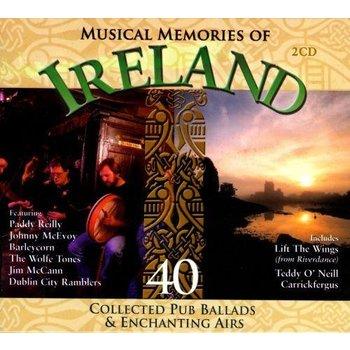 MUSICAL MEMORIES OF IRELAND - VARIOUS ARTISTS (CD)