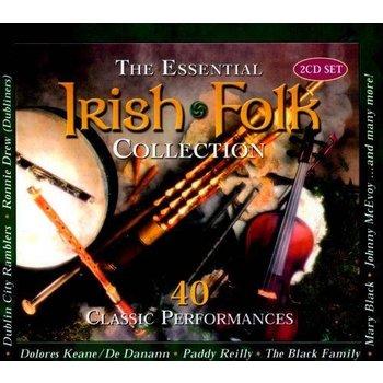 ESSENTIAL IRISH FOLK COLLECTION - VARIOUS ARTISTS (CD)