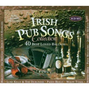 ESSENTIAL IRISH PUB SONGS COLLECTION - VARIOUS ARTISTS (CD)