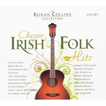 THE RONAN COLLINS COLLECTION CLASSIC IRISH FOLK HITS - VARIOUS ARTISTS (CD)