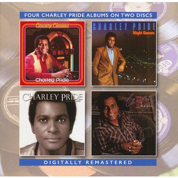 CHARLEY PRIDE - COUNTRY CLASSICS / NIGHT GAMES / POWER OF LOVE / BACK TO THE COUNTRY (CD)