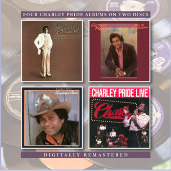 CHARLEY PRIDE - YOU'RE MY JAMAICA / ROLL ON MISSISSIPPI / EVERYBODY'S CHOICE / CHARLEY PRIDE LIVE (CD)