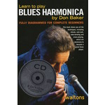 DON BAKER - LEARN TO PLAY BLUES HARMONICA (BOOK & CD)...