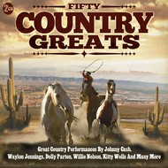 FIFTY COUNTRY GREATS - VARIOUS ARTISTS (CD)...