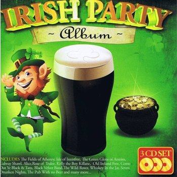IRISH PARTY ALBUM - VARIOUS ARTISTS (CD)