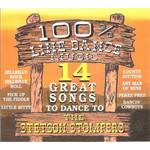 THE STETSON STOMPERS - 100% LINE DANCE MUSIC (CD)...