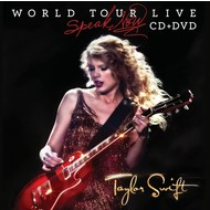 TAYLOR SWIFT - SPEAK NOW WORLD TOUR LIVE (CD & DVD).