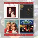 PORTER WAGONER AND DOLLY PARTON - ONCE MORE / TWO OF A KIND / THE RIGHT COMBINATION, BURNING THE MIDNIGHT OIL / TOGETHER ALWAYS (CD).
