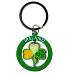 CELTIC SHAMROCK - IRISH KEYRING