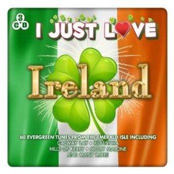 I JUST LOVE IRELAND - VARIOUS IRISH ARTISTS (3 CD SET)