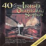 40 GREAT IRISH DRINKING SONGS - VARIOUS IRISH ARTISTS (CD)...