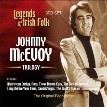 JOHNNY MCEVOY - TRILOGY, LEGENDS OF IRISH FOLK (CD)