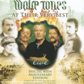 WOLFE TONES - AT THEIR VERY BEST LIVE (CD)