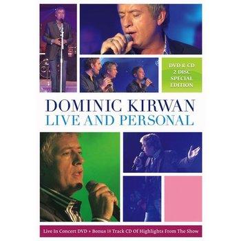 DOMINIC KIRWAN - LIVE AND PERSONAL (DVD)