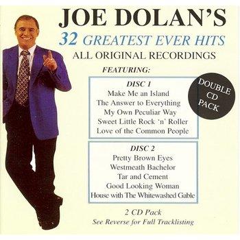 JOE DOLAN - 32 GREATEST EVER HITS (CD)