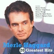 MERLE HAGGARD - 20 GREATEST HITS (CD).