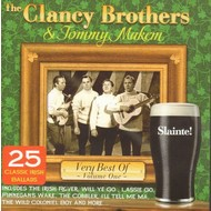 THE CLANCY BROTHERS AND TOMMY MAKEM - VERY BEST OF VOL 1 (CD)